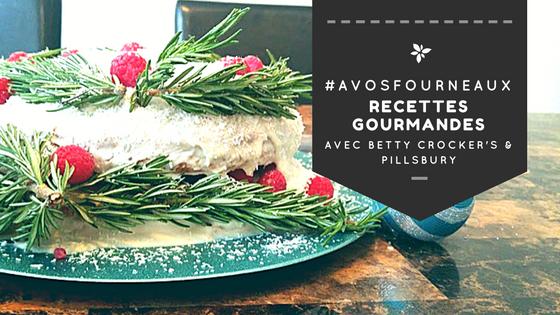 #ÀVosFourneaux: Une recette de gâteau des fêtes & Cuisiner et gagner!