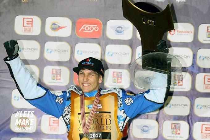 Maksym Drabik a junior világbajnok!