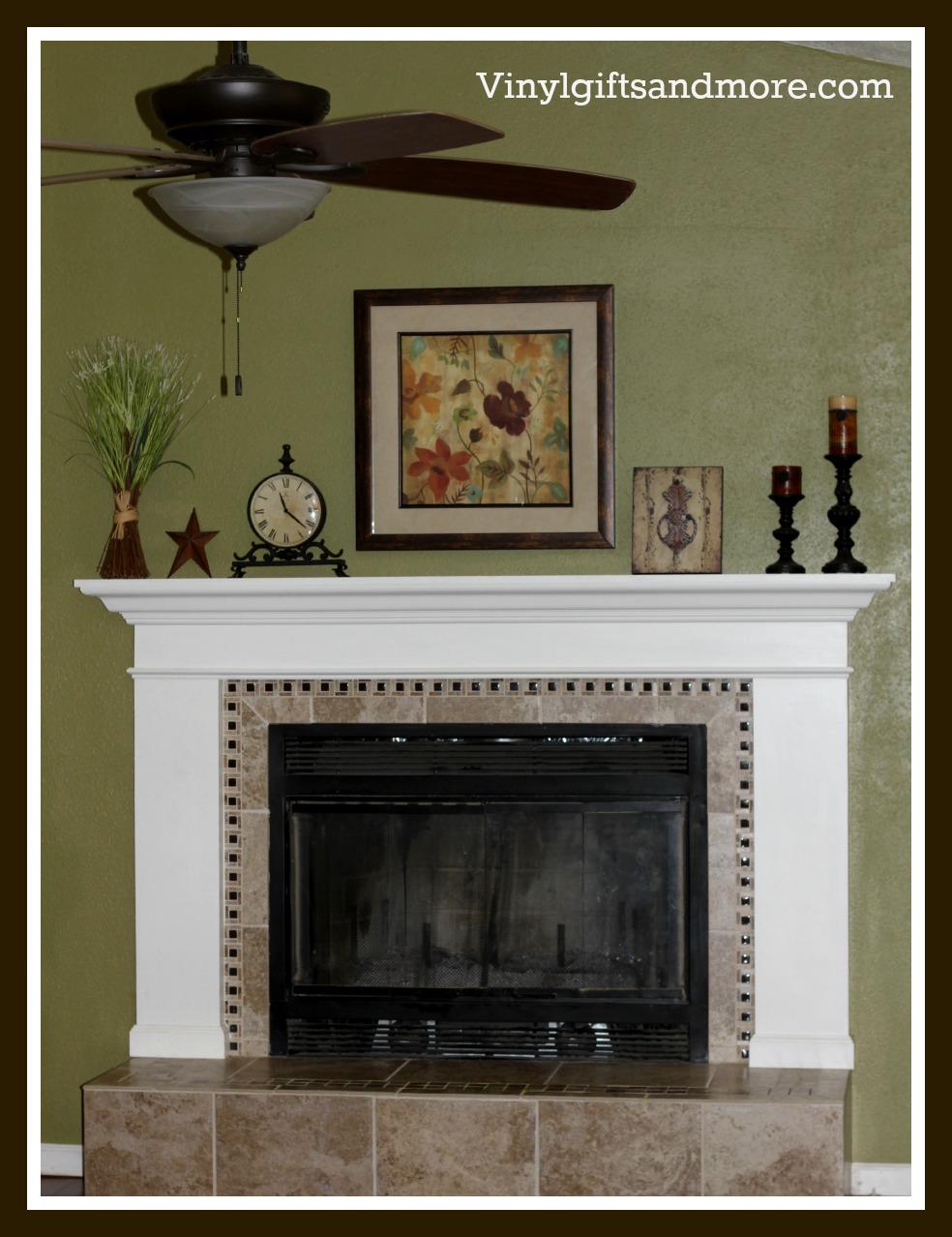 Super Saturday Crafts: Fireplace Remodel