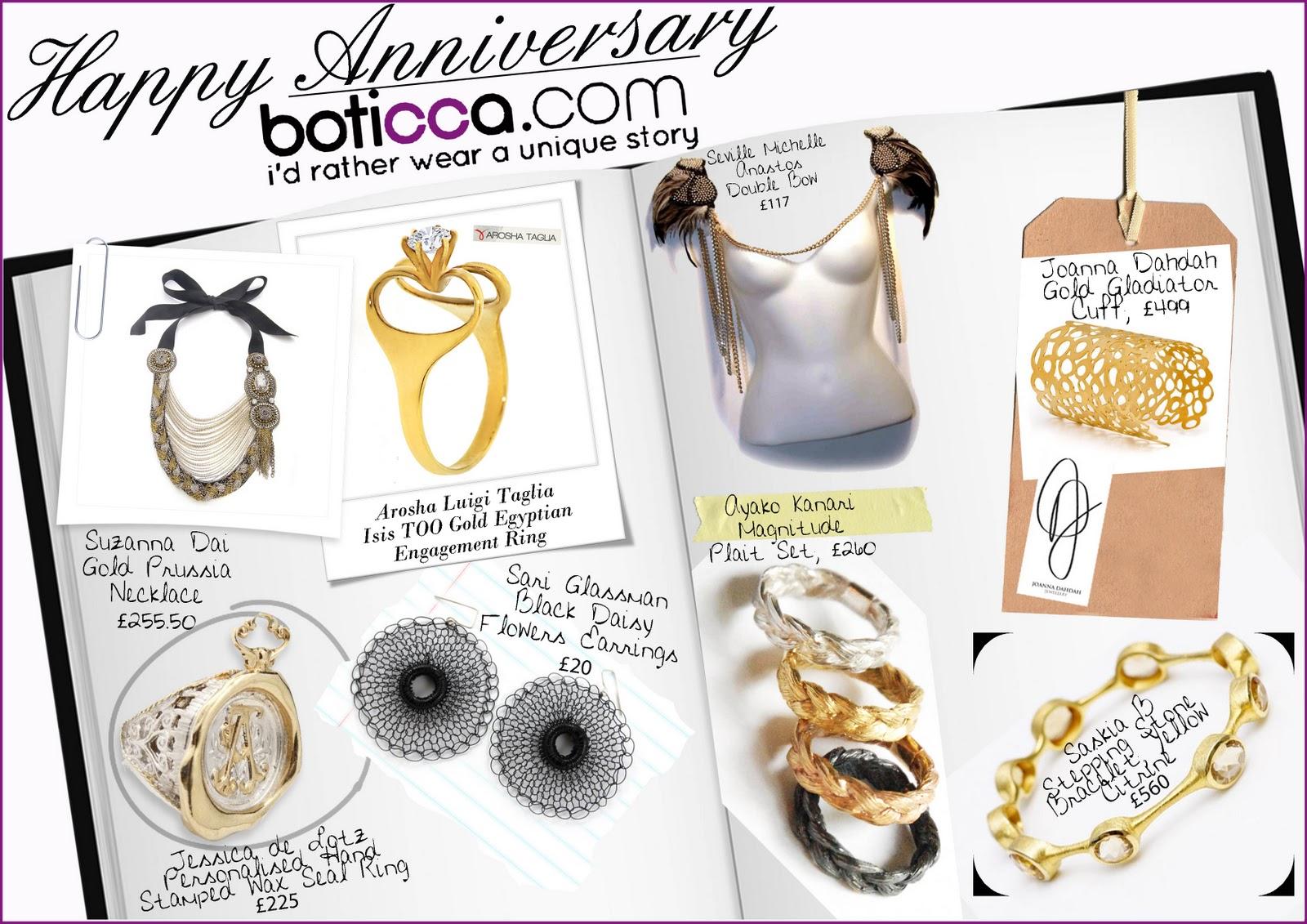 Happy Anniversary Boticca - by Sarah-Hayley Owen