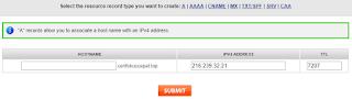 cara setting domain namesilo blogspot