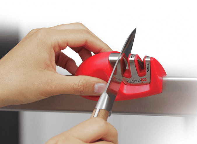 36 Genius Yet Inexpensive Products That Can Save Lives - This Knife Sharpener Will Keep Your Knives in Tip-Tip Shape