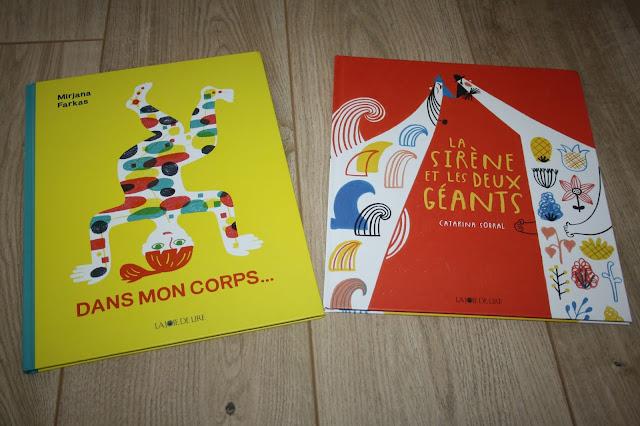 Deux nouveautés des éditions La joie de Lire (coup de coeur !!)