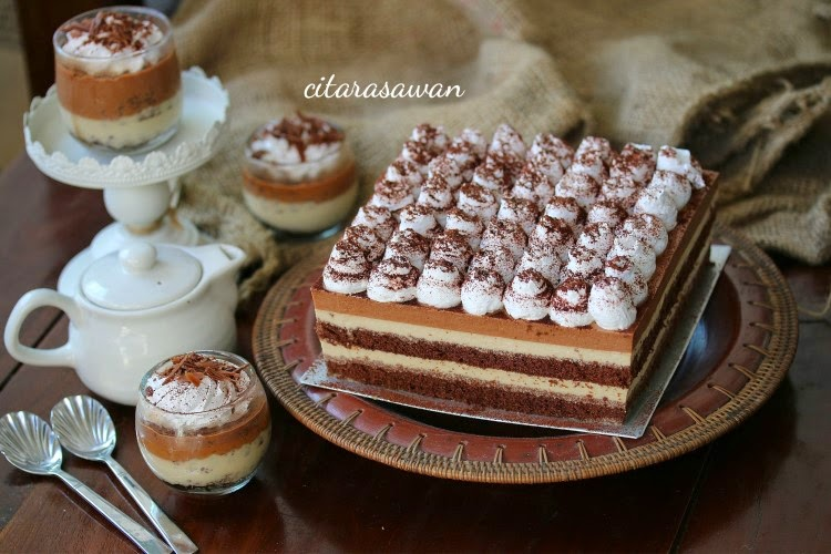 Resep Cake Tiramisu Jtt: Puding Kek Tiramisu / Tiramisu Pudding Cake
