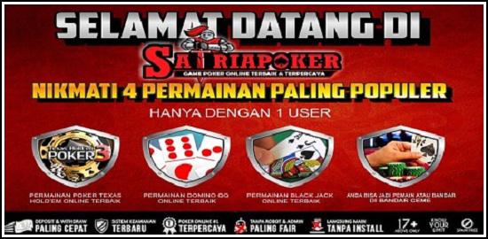 SatriaPoker.com Agen Dewa Poker Online Terpercaya