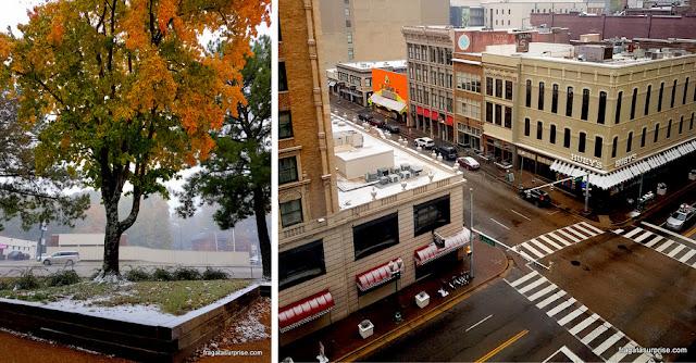 Neve em Memphis