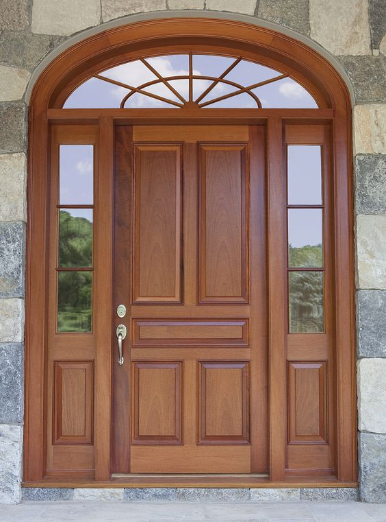 50 Photos Of Unique And Elegant Wooden Main Door Design