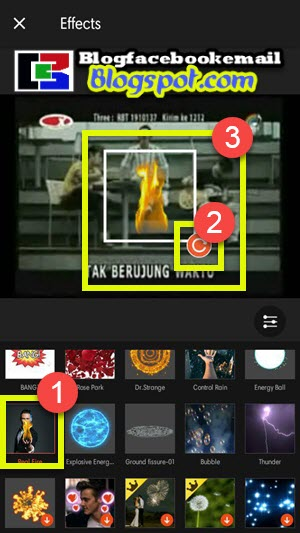 Mengedit video dengan imbas keren bin ajaib kini sanggup dipelajari tanpa susah Cara Membuat Efek Video Keren bin Ajaib Kualitas 3D di Hp Android