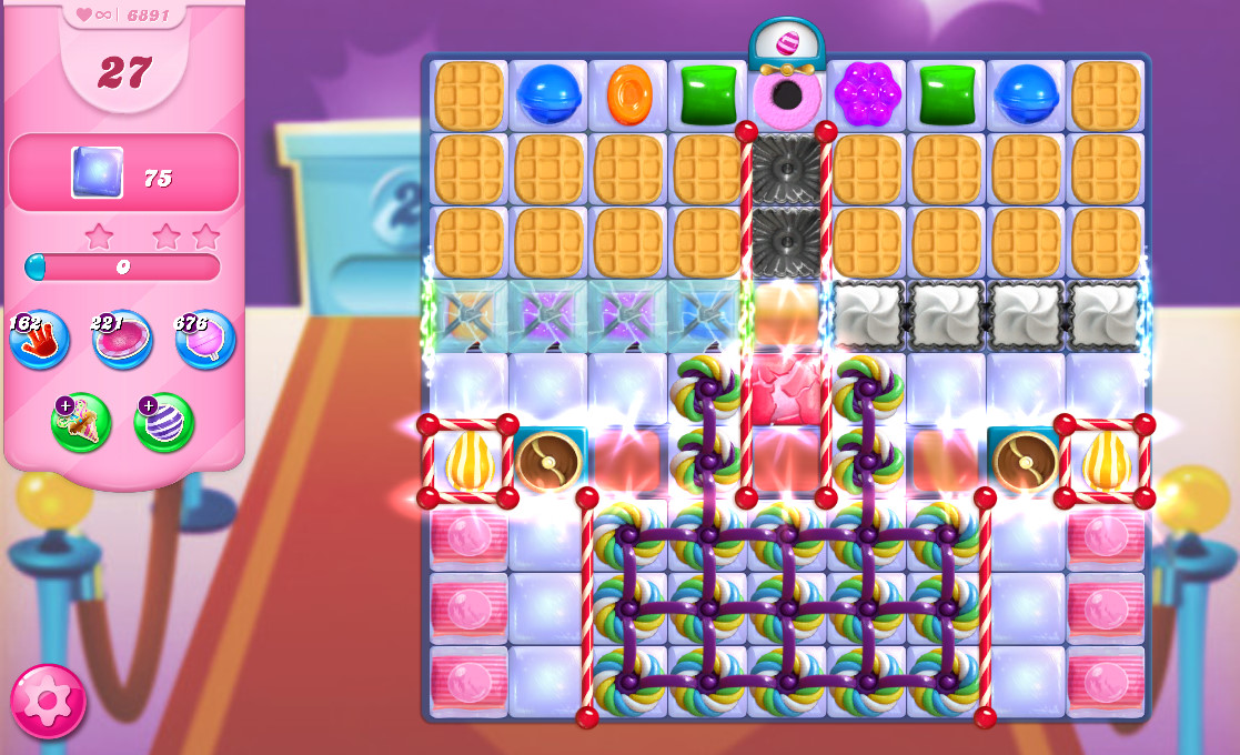 Candy Crush Saga level 6891