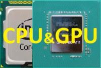Подбор CPU GPU