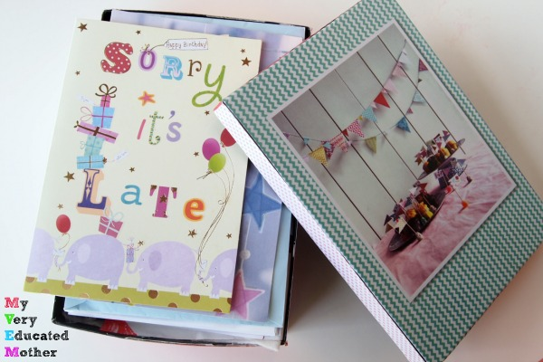 Got a ton of subscription beauty boxes you can't seem to part with? Use them to store cards!