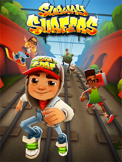 لعبة صب واى Subway Surfers
