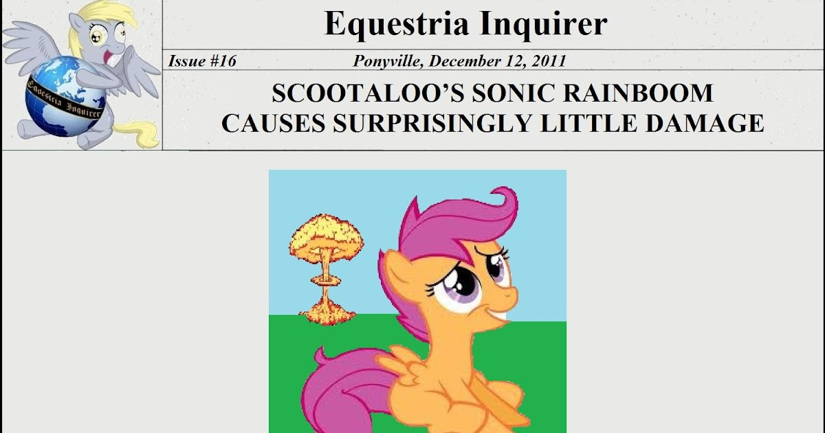 Equestria Daily Mlp Stuff Equestrian Inquirer Issue 16 Watch online and download cartoon my little pony: equestria daily