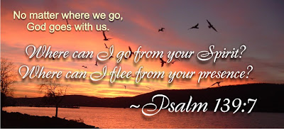 Psalm 139:7 where can i flee from God