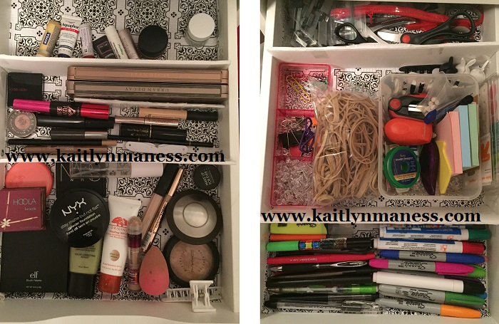 makeup, office supplies