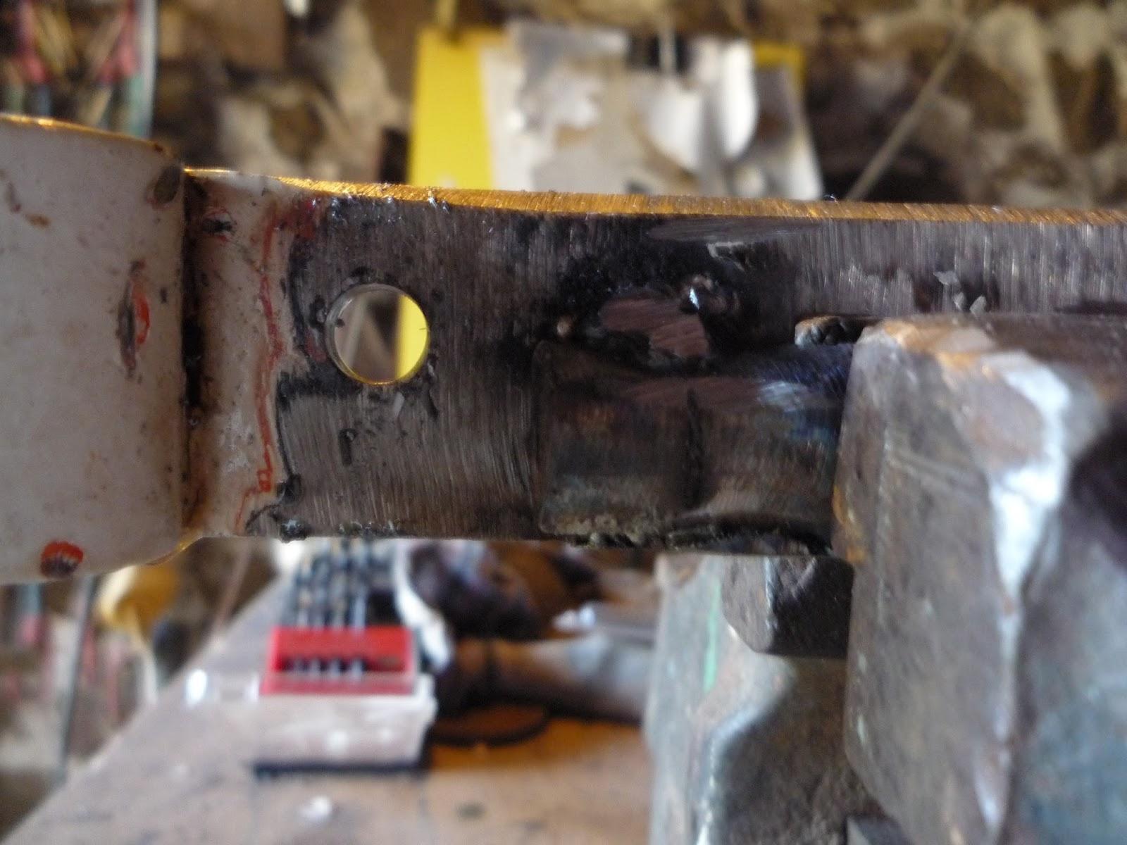 work in progress DIY guillotine