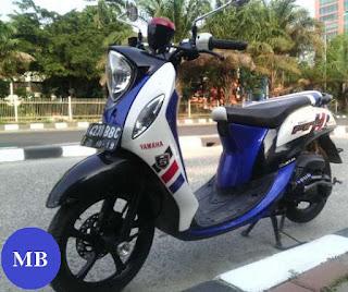 Harga pasaran motor Yamaha Fino second lengkap