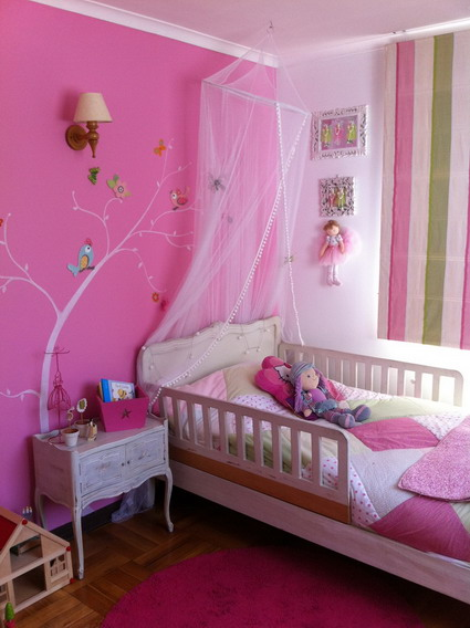 10 cute and lovely bedroom ideas for little girls 4