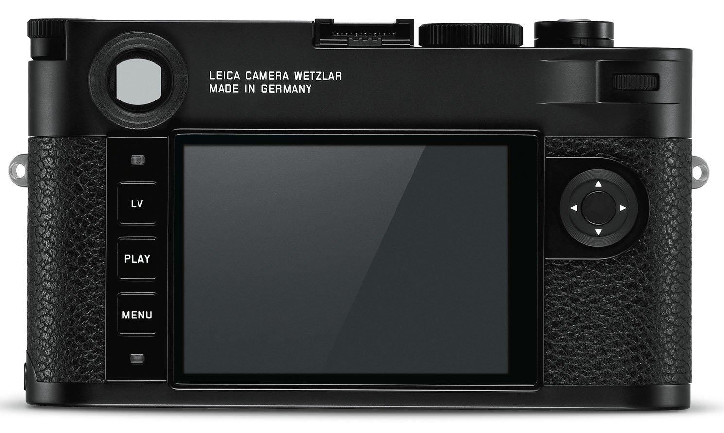 Leica M10, вид сзади