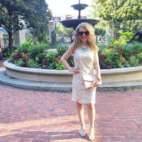 The Blog Societies, #TBSCon, White Eyelet Dress
