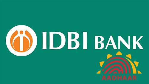 How to Link Aadhaar with IDBI Bank Account