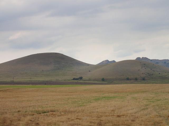 Pagóry na wschodzie Rumunii