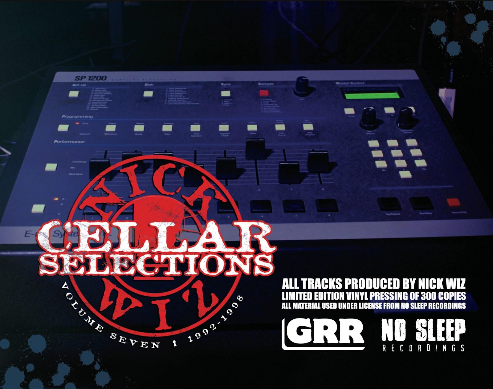 Gentleman S Relief Nick Wiz Cellar Selections 7 Vinyl