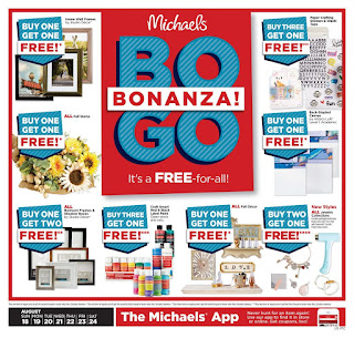 ⭐ Michaels Ad 8/18/19 ✅ Michaels Weekly Ad August 18 2019