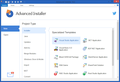 Screenshot Advanced Installer Architect 14.5.2 Build 83143 Full Version