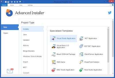 Screenshot Advanced Installer Architect 14.5.2 Build 83143 Full Version