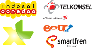 Operator 4G di Indonesia