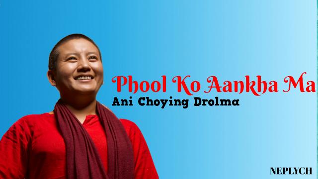 Here is the new post Phool ko aankha ma Lyrics by Ani Choying Drolma. Phool ko aankha ma,  phulai sansara Kaanda ko aankha ma, kaandai sansara Jhulkinchha hai chhayan, basto aansara Kaanda ko aankha ma, kaandai sansara. phool ko aankh ma lyrics, phool ko aankh ma free mp3 download, phool ko aankh ma lyrics and chords, phool ko aankh ma guitar chords, phool ko aankh ma guitar lesson, phool ko aankh ma lyrics ani choying drolma, phool ko aankh ma karaoke, phool ko aankh ma lyrics and guitar chords, ani choying drolma songs, ani choying drolma book, ani choying drolma, phool ko aankh ma