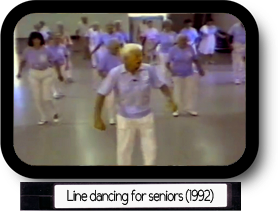 Line dancing for seniors
