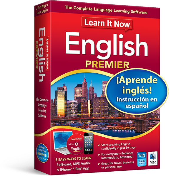 Learn It Now English Premier | Avanquest
