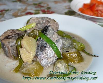Ginataang Tulingan with Kamias