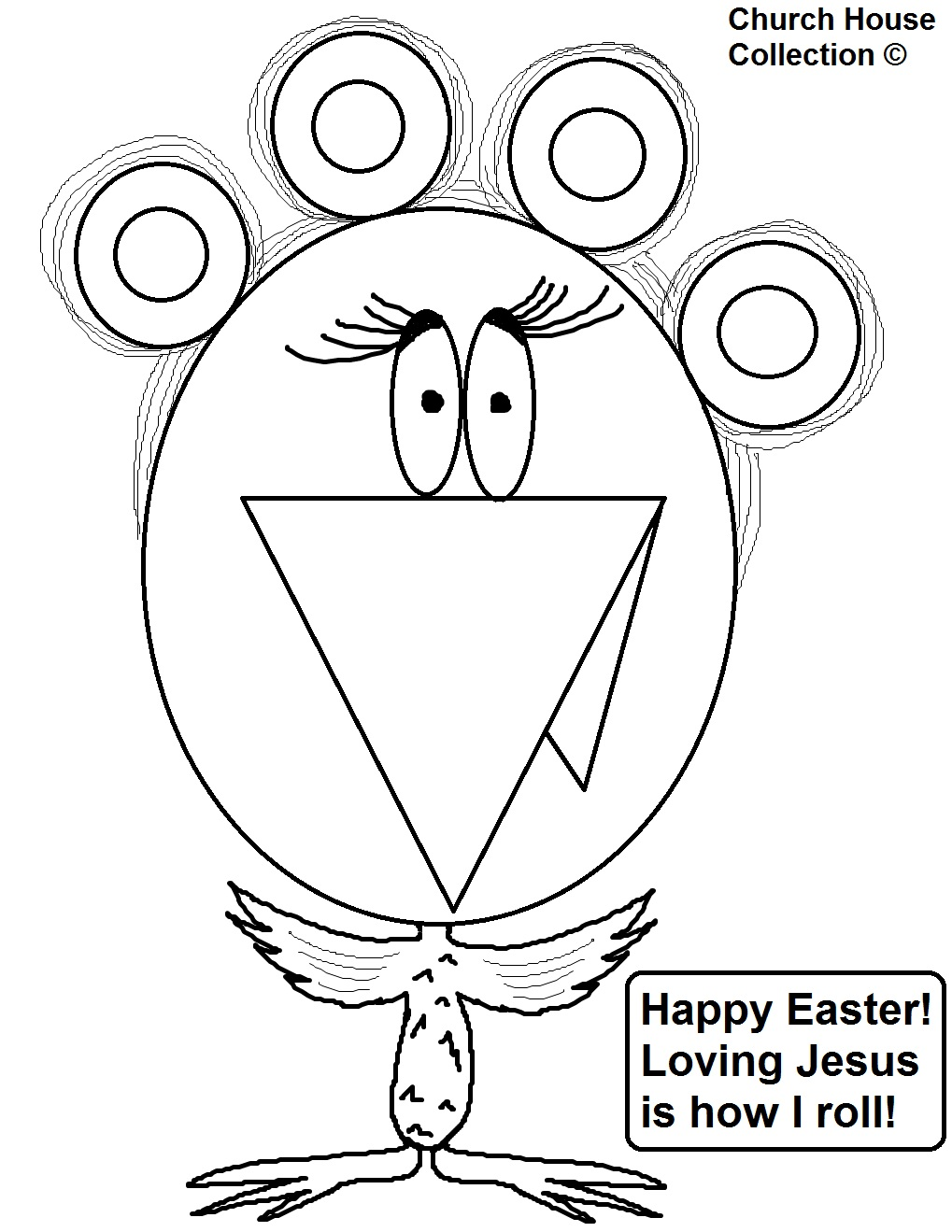 Church House Collection Blog: Christian Easter Coloring