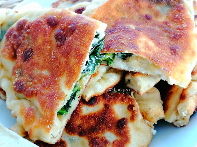 Spinach & Cheese Hand Pies for a Snack