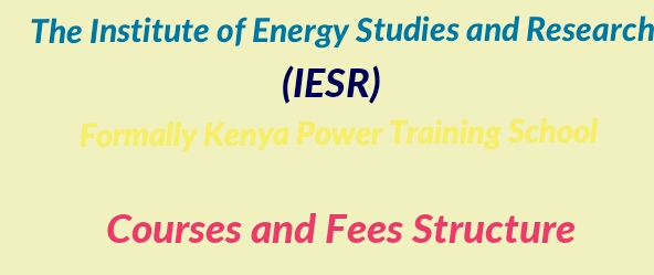 Fees and courses IESR