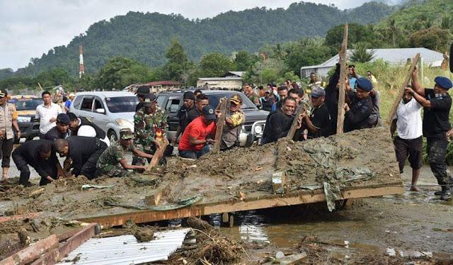 Data Terkini Korban Banjir Sentani Jayapura, 50 Meninggal, 59 Luka-Luka