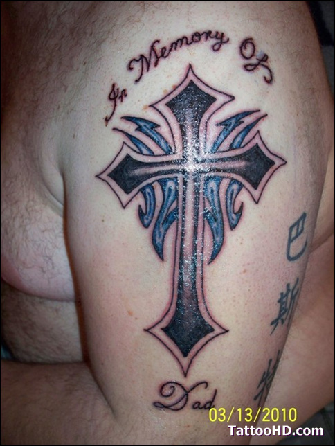 Christian Cross Tattoo Designs | New Tattoos Jijek