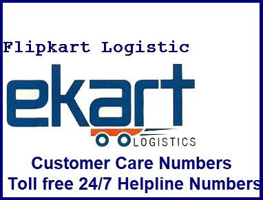 ekart logistic customer care number 24/7 helpline numbers