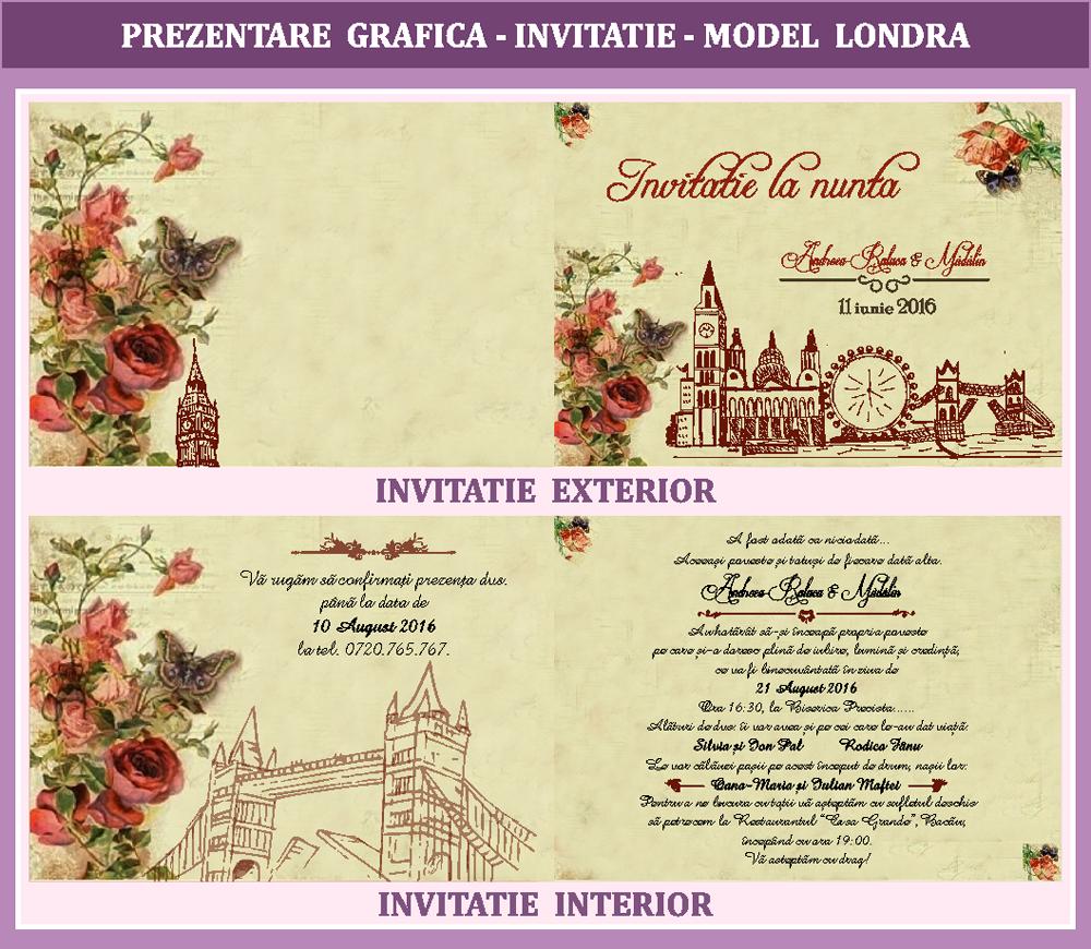Bebestudio11com Invitatii Nunta Si Botez Invitatii Nunta Londra