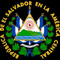 Logo Gambar Lambang Simbol Negara El Salvador PNG JPG ukuran 200 px