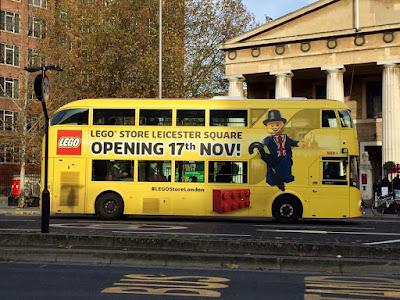 #LEGOStoreLondon Bus