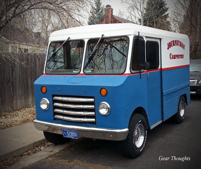Gear Thoughts: Antique Chevrolet Work Van [On The Street]