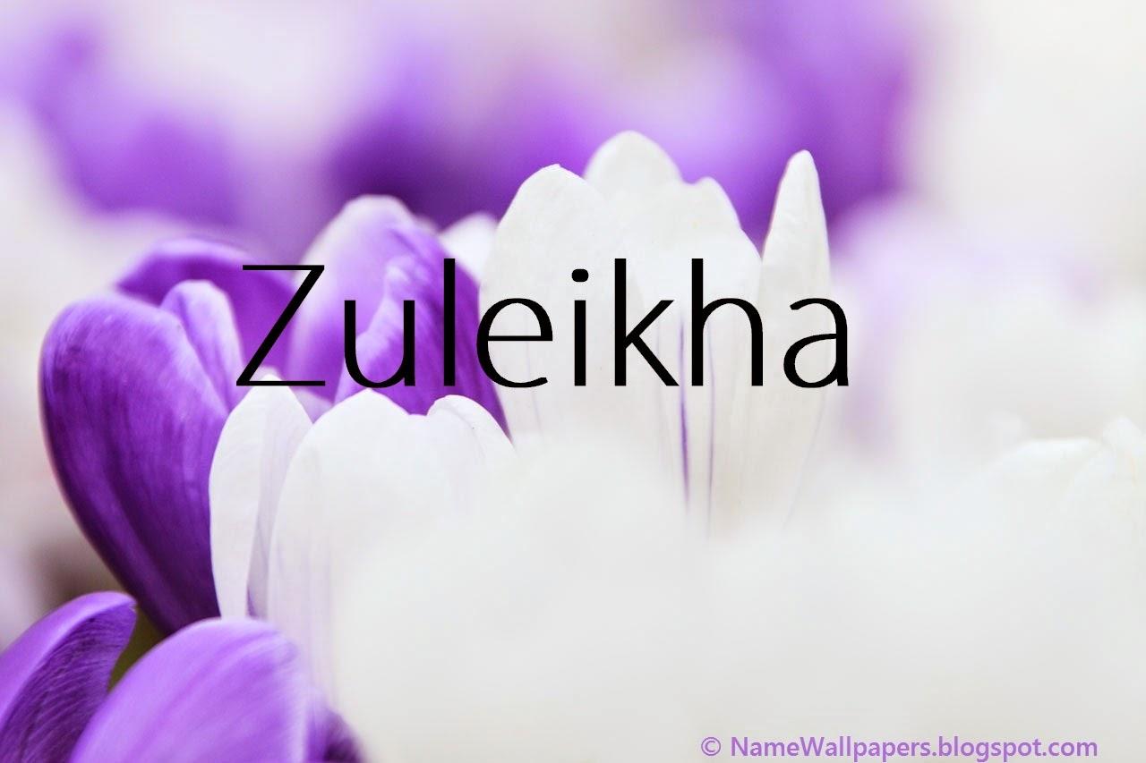 Zulekha Name Wallpapers Zulekha ~ Name Wallpaper Urdu Name ...