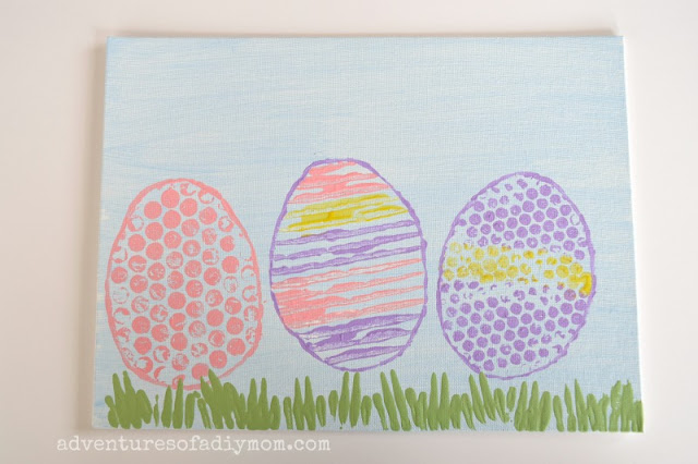 easter painting on canvas