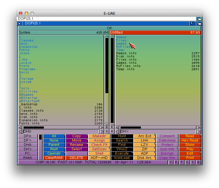 mac and i: Nostalgic Sunday - Run AmigaOS 3 1 on Mac OS X