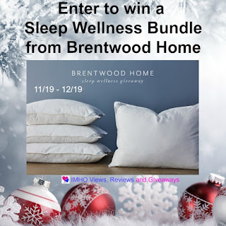 Brentwood Home Sleep Wellness Bundle US only