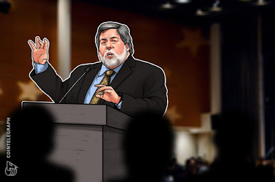 Apple's Steve Wozniak Calls Blockchain a 'Bubble,' Thinks Bitcoin Is Still 'Just Amazing'